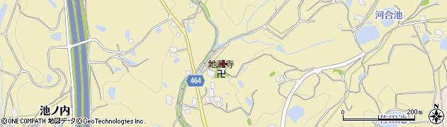 兵庫県淡路市池ノ内周辺の地図