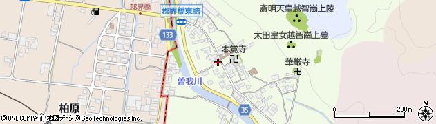 奈良県高市郡高取町車木496周辺の地図