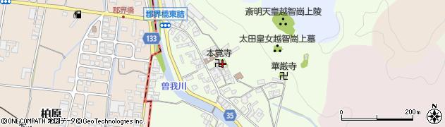 奈良県高市郡高取町車木238周辺の地図