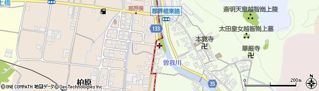 奈良県高市郡高取町車木476周辺の地図