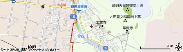 奈良県高市郡高取町車木497周辺の地図