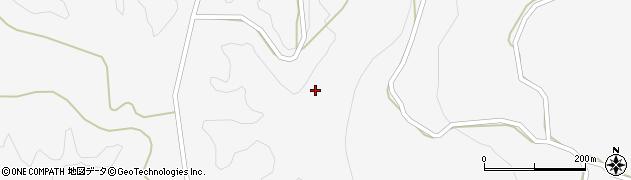 山口県萩市吉部下(天坪)周辺の地図