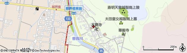 奈良県高市郡高取町車木232周辺の地図