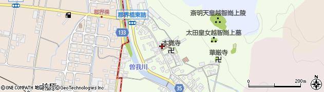 奈良県高市郡高取町車木231周辺の地図