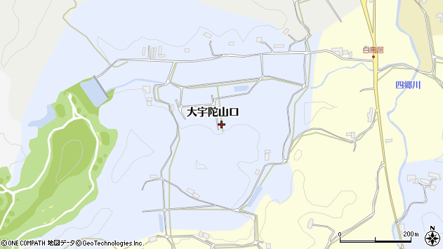 〒633-2139 奈良県宇陀市大宇陀山口の地図