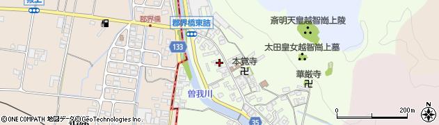 奈良県高市郡高取町車木490周辺の地図