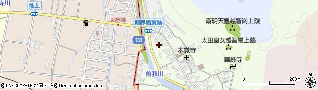 奈良県高市郡高取町車木486周辺の地図