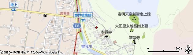 奈良県高市郡高取町車木226周辺の地図