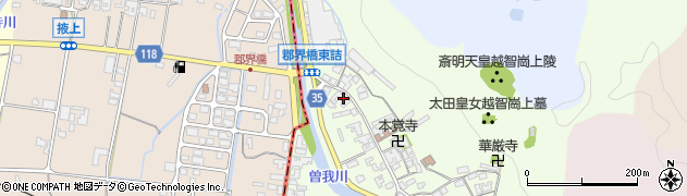 奈良県高市郡高取町車木484周辺の地図