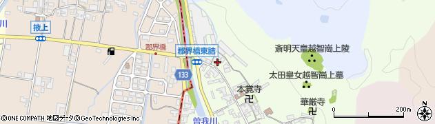 奈良県高市郡高取町車木215周辺の地図