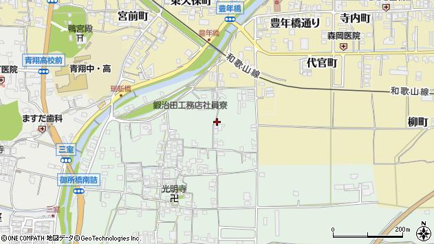 〒639-2272 奈良県御所市蛇穴の地図