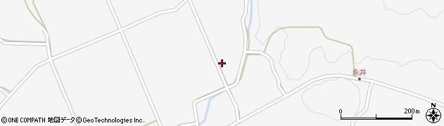 山口県萩市紫福(永田沖)周辺の地図