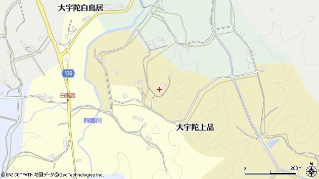 〒633-2133 奈良県宇陀市大宇陀上品の地図