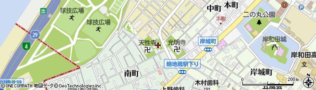 梅渓寺周辺の地図