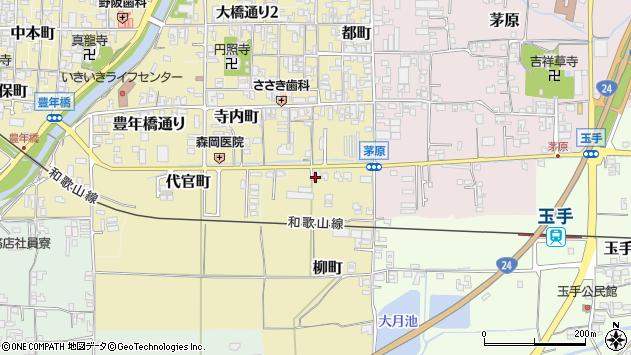 〒639-2234 奈良県御所市柳町の地図