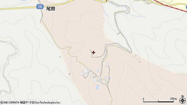 〒634-0116 奈良県高市郡明日香村尾曽の地図