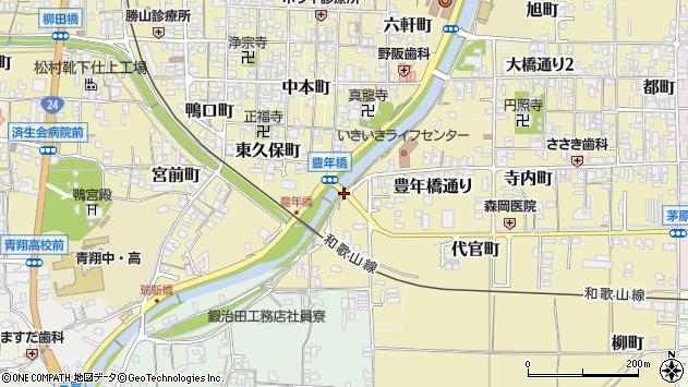 〒639-2237 奈良県御所市豊年橋通りの地図