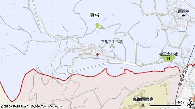 〒634-0136 奈良県高市郡明日香村地ノ窪の地図