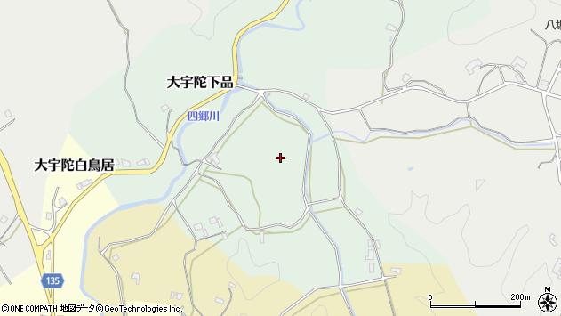 〒633-2132 奈良県宇陀市大宇陀下品の地図