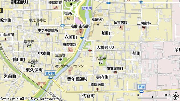 〒639-2238 奈良県御所市大橋通りの地図