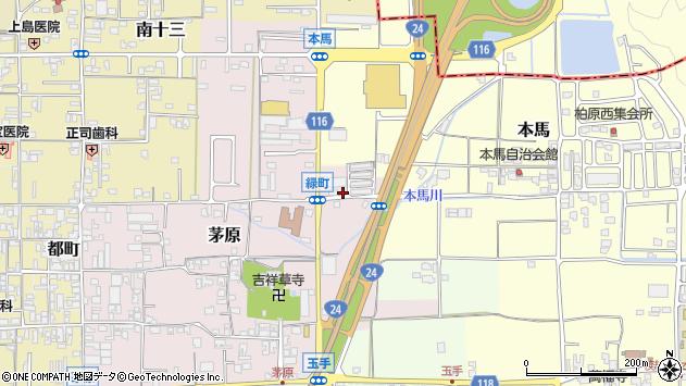 〒639-2248 奈良県御所市緑町の地図