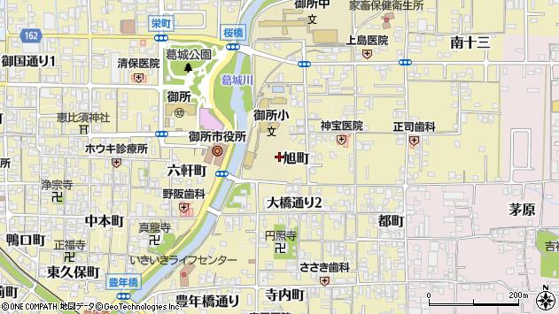 〒639-2239 奈良県御所市旭町の地図