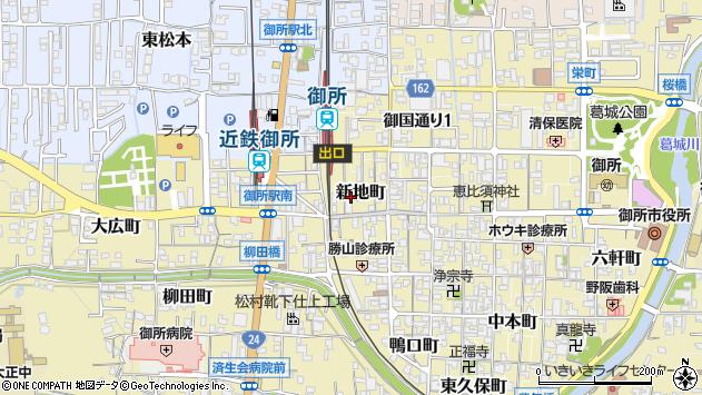 〒639-2217 奈良県御所市新地町の地図