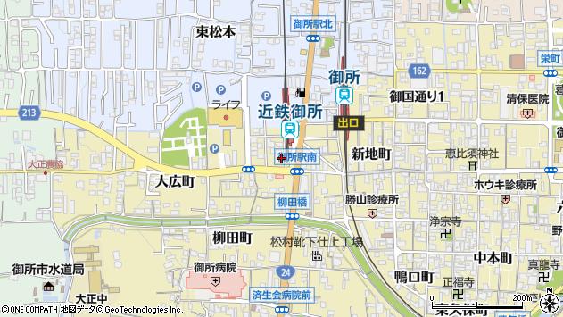 〒639-2303 奈良県御所市末広町の地図