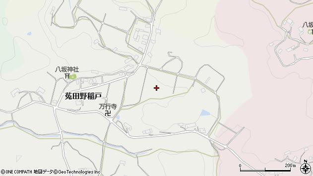〒633-2225 奈良県宇陀市菟田野稲戸の地図