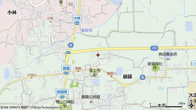 〒639-2312 奈良県御所市櫛羅の地図