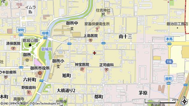 〒639-2232 奈良県御所市御門町の地図