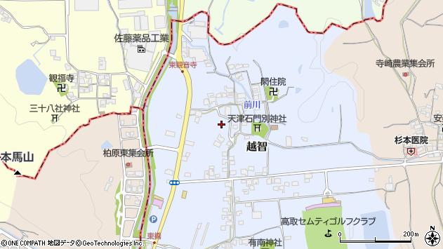 〒635-0144 奈良県高市郡高取町越智の地図