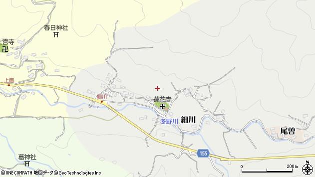 〒634-0114 奈良県高市郡明日香村細川の地図