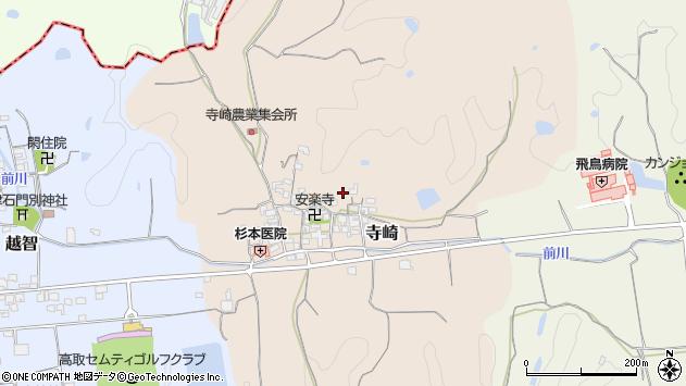 〒635-0142 奈良県高市郡高取町寺崎の地図