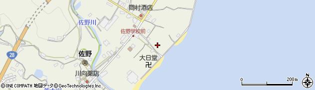 兵庫県淡路市佐野井筒周辺の地図