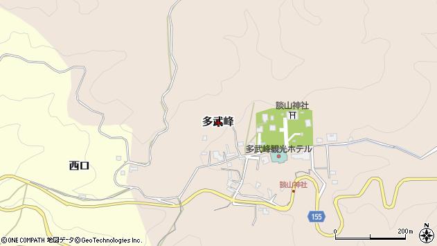 〒633-0032 奈良県桜井市多武峰の地図