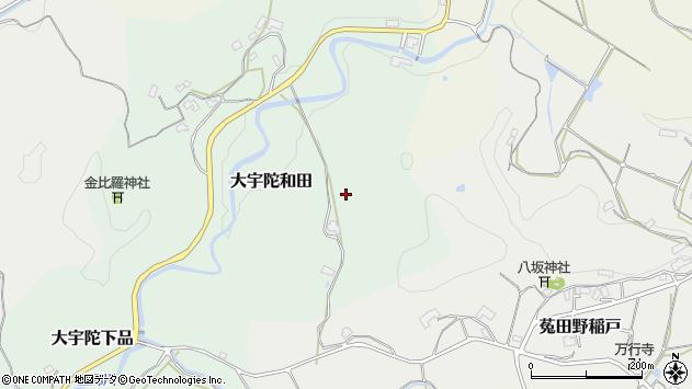 〒633-2131 奈良県宇陀市大宇陀和田の地図