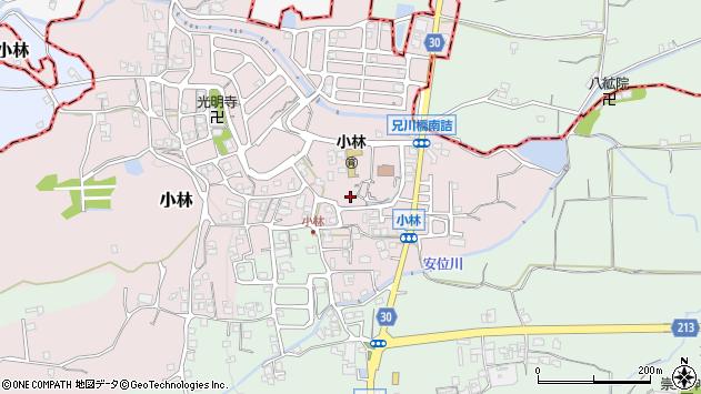 〒639-2311 奈良県御所市小林の地図