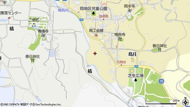 〒634-0112 奈良県高市郡明日香村島庄の地図