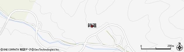 奈良県桜井市針道周辺の地図