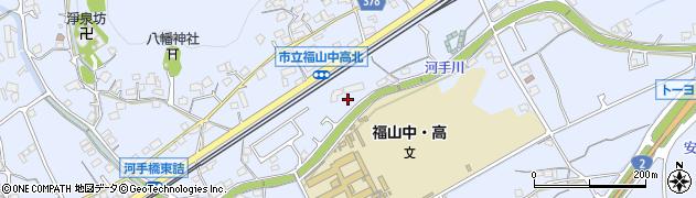 広島県福山市赤坂町周辺の地図