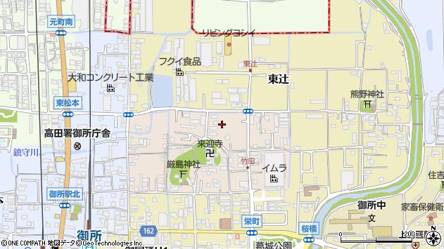 〒639-2206 奈良県御所市竹田の地図
