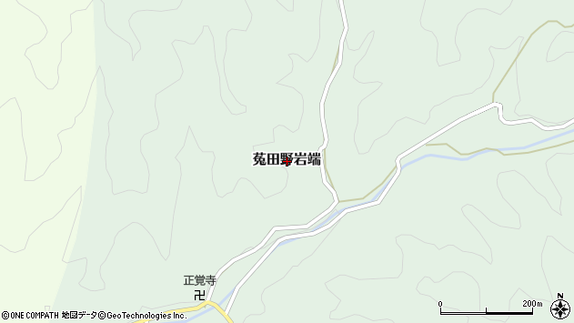 〒633-2214 奈良県宇陀市菟田野岩端の地図