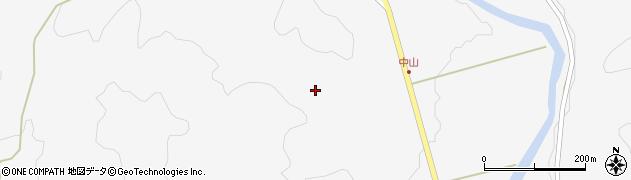 山口県萩市紫福(中山)周辺の地図