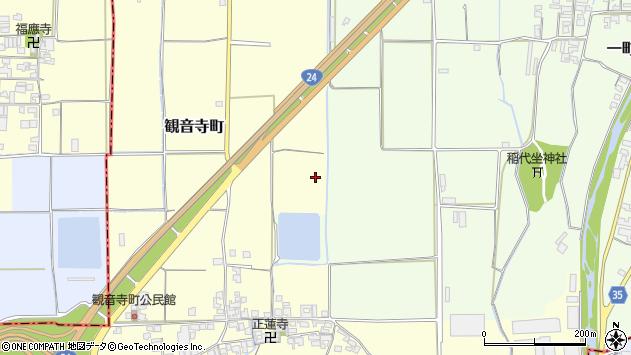 〒634-0825 奈良県橿原市観音寺町の地図