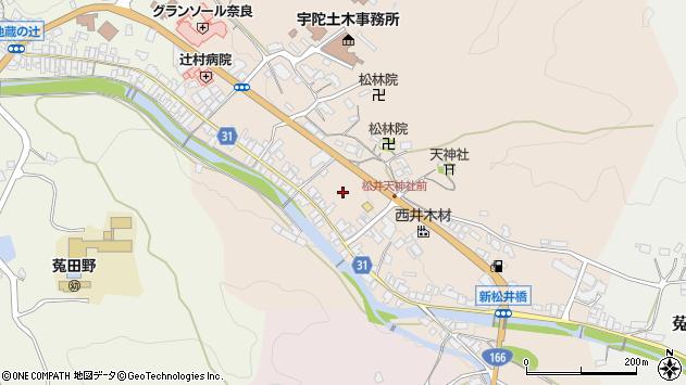 〒633-2221 奈良県宇陀市菟田野松井の地図