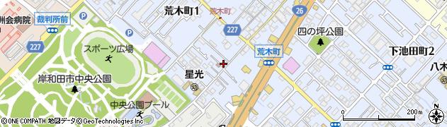 妙長寺周辺の地図
