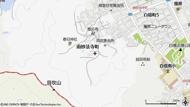 〒634-0052 奈良県橿原市南妙法寺町の地図