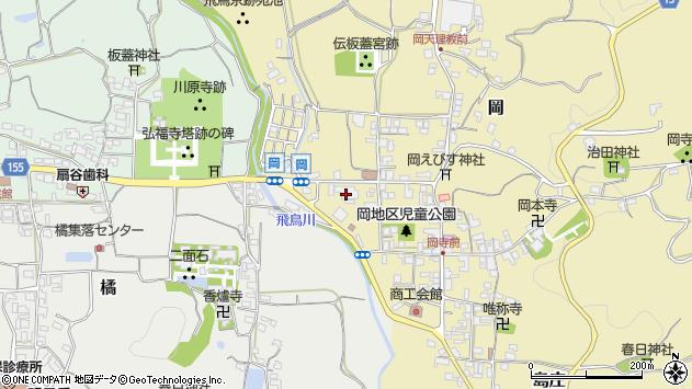 〒634-0100 奈良県高市郡明日香村(以下に掲載がない場合)の地図