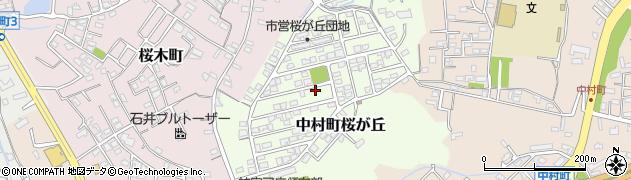 三重県伊勢市中村町桜が丘周辺の地図
